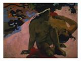 Aha Oe Feii (Are You Jealous) 1892 Stampa giclée di Paul Gauguin