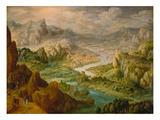 Landscape, 1612 Giclée-Druck von Tobias Verhaecht