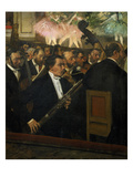 The Opera Orchestra, about 1870 Giclee Print by Edgar Degas