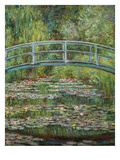 Japanische Bruecke, 1899 Giclee Print by Claude Monet