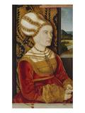 Bildnis Der Sibylla Von Freyberg, Geb. Gossenbrot Giclee Print by Bernhard Strigel