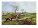 The Hunt Giclee Print by Henry Thomas Alken