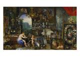 The Sense of Sight. (Executed with Peter Paul Rubens), 1617 Giclée-Druck von Jan Brueghel the Elder