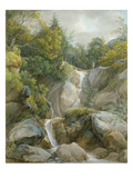 The Falls of the Isar Giclee Print by Johann Georg von Dillis