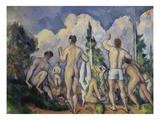 The Bathers, about 1890/92 Prints by Paul Cézanne