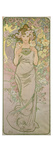 The Rose, 1898 Prints by Alphons Mucha