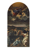 The Ascension of the Virgin, 1631 Giclee Print by Giovanni Lanfranco