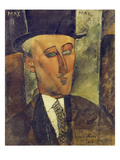 Portrait of Max Jacob, 1916 Giclee Print by Amedeo Modigliani