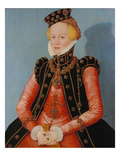 Portrait of a Lady (Margravin Elisabeth Von Ansbach-Bayreuth) Prints by Lucas Cranach the Younger
