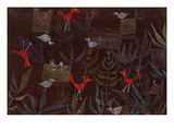 Garden of the Birds (Vogelgarten.) 1924 Gicl&#233;e-Druck von Paul Klee
