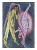 Dancing Couple Giclee Print by Ernst Ludwig Kirchner
