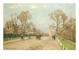 The Road to Sydenham, 1871 Giclee Print by Camille Pissarro
