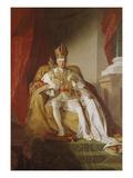 Kaiser Franz I. Von Oesterreich Giclee Print by Friedrich Von Amerling