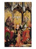 Kroenung Mariae Prints by Michael Pacher