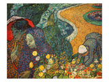 The Women of Arles (Memories of the Garden at Etten), 1888 Giclee Print by Vincent van Gogh