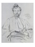 Self Portrait, 1899 Posters by Alphons Mucha