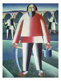 Der Schnitter, 1909 Posters by Kasimir Malevich