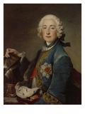 Pfalzgraf Friedrich Michael Von Zwei- Bruecken-Birkenfeld Giclee Print by Louis Tocque