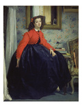 Young Lady in a Red Jacket, 1864 Giclee Print by James Tissot