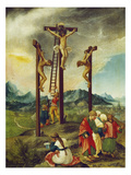 Christ on the Cross Between the Two Thieves, about 1526 Prints by Albrecht Altdorfer