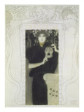Fair Drawing for the Allegory of the 'tragedy', 1897 Poster von Gustav Klimt