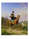 Ausritt Giclee Print by Friedrich Wilhelm Pfeiffer
