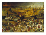 Triumph of Death, about 1562 Gicléetryck av Pieter Bruegel the Elder