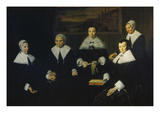 Female Regents of the Men's Nursing Home in Haarlem Giclée-Druck von Frans Hals