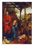 The Nativity, about 1480 Giclee Print by Martin Schongauer