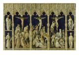 Kalvarienberg Und die Hll.Koloman,Quirin ,Kastor U.Chrysogonus Giclee Print by Gabriel Angler