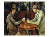 The Card Players, about 1890/95 Posters by Paul Cézanne