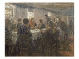 Das Abendmahl. Oelskizze Giclee Print by Fritz von Uhde