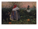 The Disturbed Tryst, 1888 Giclee Print by Joza Uprka