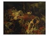 The Death of Sardanapalus, 1827 Posters by Eugène Delacroix
