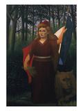 Die Franzoesische Republik, 1904 Giclee Print by Henri Rousseau