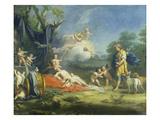 Venus and Adonis Plakater af Jacopo Amigoni