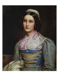 Helene Sedlmayr. from the Beauty-Gallery of King Ludwig I. of Bavaria Giclee Print by Joseph Karl Stieler