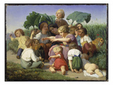 The Story-Teller, 1843 Giclee Print by Lorenz Froelich