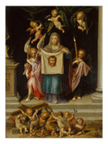 St. Veronica with the Shroud of Christ Giclee Print by Dirk De Quade Van Ravesteyn