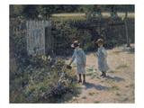 In the Garden (Wogrodzie), 1892 Giclee Print by Wladyslaw Podkowinski