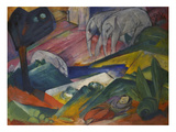 The Dream, 1913 Lmina gicle por Franz Marc