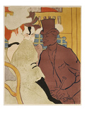 Der Englaender Im Moulin-Rouge Póster por Henri de Toulouse-Lautrec