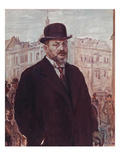 Self Portrait 1913 Giclee Print by Max Slevogt
