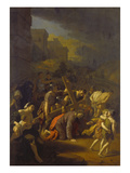 Die Kreuztragung Christi Poster by Adriaan van der Werff