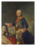 Frederick Ii (The Great) of Prussia Giclee Print by Antoine Pesne