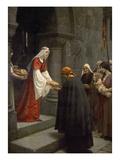 Die Hl.Elisabeth Von Ungarn Speist die Armen, 1895 Posters by Edmund Blair Leighton