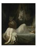The Nightmare, 1790/91 Giclée-tryk af Henry Fuseli