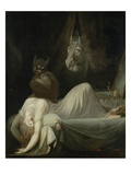 Henry Fuseli - The Nightmare, 1790/91 - Giclee Baskı