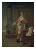 Bildnis Des Prokofi Demidow Als Gaertner, 1773 Giclee Print by Dimitrij Grigorjew Lewizkij