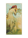 Seasons: Summer, 1896 Giclee Print by Alphonse Mucha
